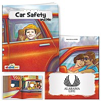 All About Me Book: Car Safety And Me