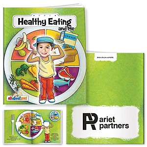 All About Me Book: Healthy Eating And Me