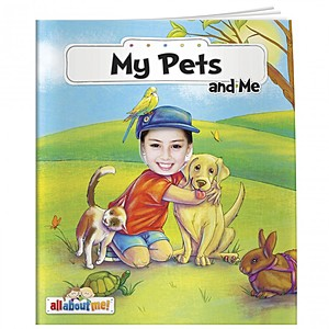 All About Me Book: My Pets And Me