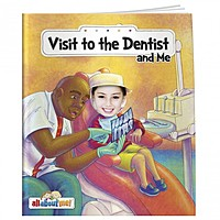 All About Me Book: Visit To The Dentist And Me