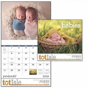 Babies Stapled Calendar