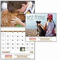 Best Friends Spiral Calendar