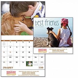 Best Friends Stapled Calendar