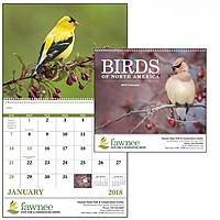 Birds Of North America Spiral Calendar