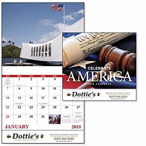 Celebrate America Stapled Calendar