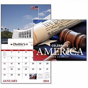 Celebrate America Window Calendar