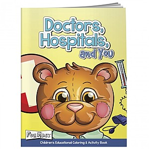 Coloring Book With Mask: Doctors, Hospital, And Yo