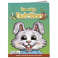 Coloring Book With Mask: Fun With Nutrition