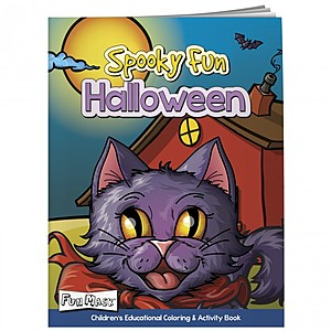 Coloring Book With Mask: Spooky Fun Halloween
