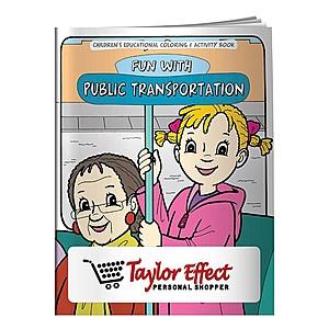 Coloring Book: Adventures In Public Transportation