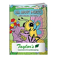Coloring Book: All About Insects