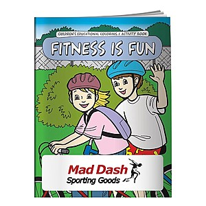Coloring Book: Fitness Is Fun