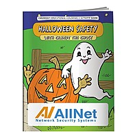 Coloring Book: Halloween Safety