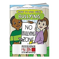 Coloring Book: How To Deal With Bullying