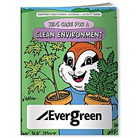 Coloring Book: Kids Care For Clean Environment