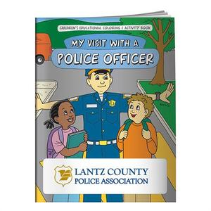 Coloring Book: My Visit With Police Officer