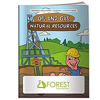 Coloring Book: Oil Gas Natural Resources