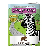 Coloring Book: View Of The Zoo