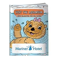Coloring Book: Visit The Aquarium