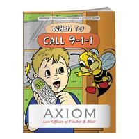 Coloring Book: When To Call 911