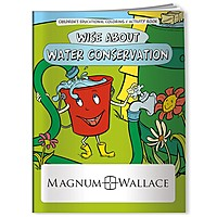Coloring Book: Wise About Water Conservation