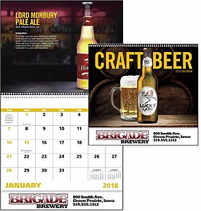 Craft Beer Spiral Calendar