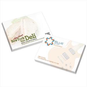 """Bic® 4"""" X 3"""" Adhesive Notepad, 25 Sheet Pad"""