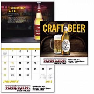 Craft Beer Stapled Calendar