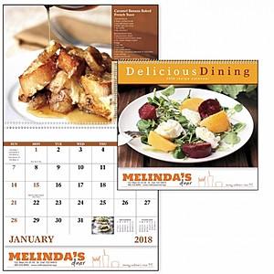 Delicious Dining Spiral Calendar