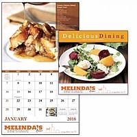 Delicious Dining Stapled Calendar