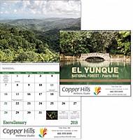 El Yunque National Forest Spiral Calendar