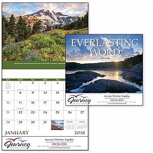 Everlasting Word Stapled Calendar