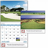 Fairways Greens Spiral Calendar