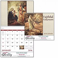 Faithful Followers Spiral Calendar