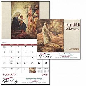 Faithful Followers Stapled Calendar