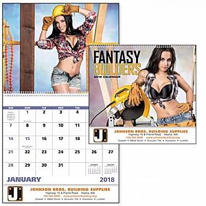 Fantasy Builders Spiral Calendar