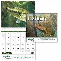 Fishing Spiral Calendar
