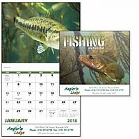 Fishing Stapled Calendar