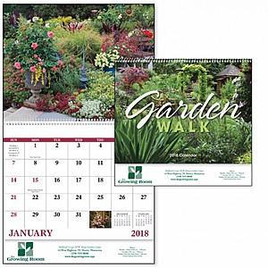 Garden Walk Spiral Calendar