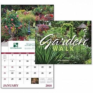 Garden Walk Window Calendar