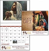 God's Gift Funeral Pre Planning Sheet Spiral Calendar