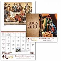 God's Gift Stapled Calendar