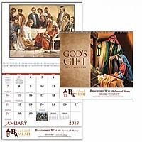 God's Gift Wo Funeral Pre Planning Sheet Spiral Calendar