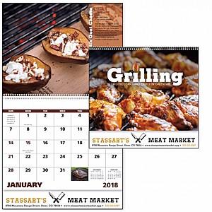 Grilling Spiral Calendar