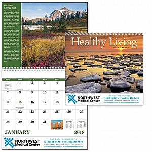 Healthy Living Spiral Calendar