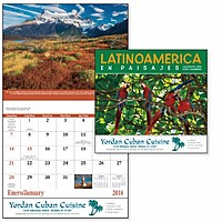 Latinoamerica En Paisajes Stapled Calendar