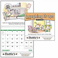 Laughing It Up! Spiral Calendar