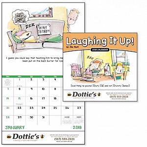 Laughing It Up! Stapled Calendar