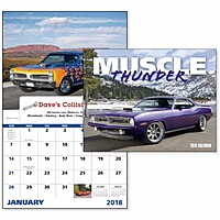 Muscle Thunder Window Calendar