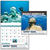 Museum Of Underwater Art Stapled Calendar